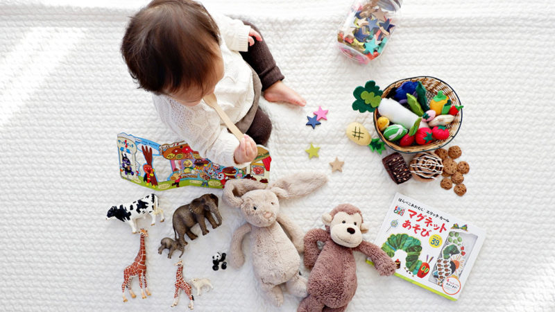 bebisar kan räkna från 5 månaders ålder