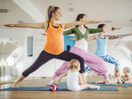 mamma-bebis-träning mamma bebis yoga göteborg gbg
