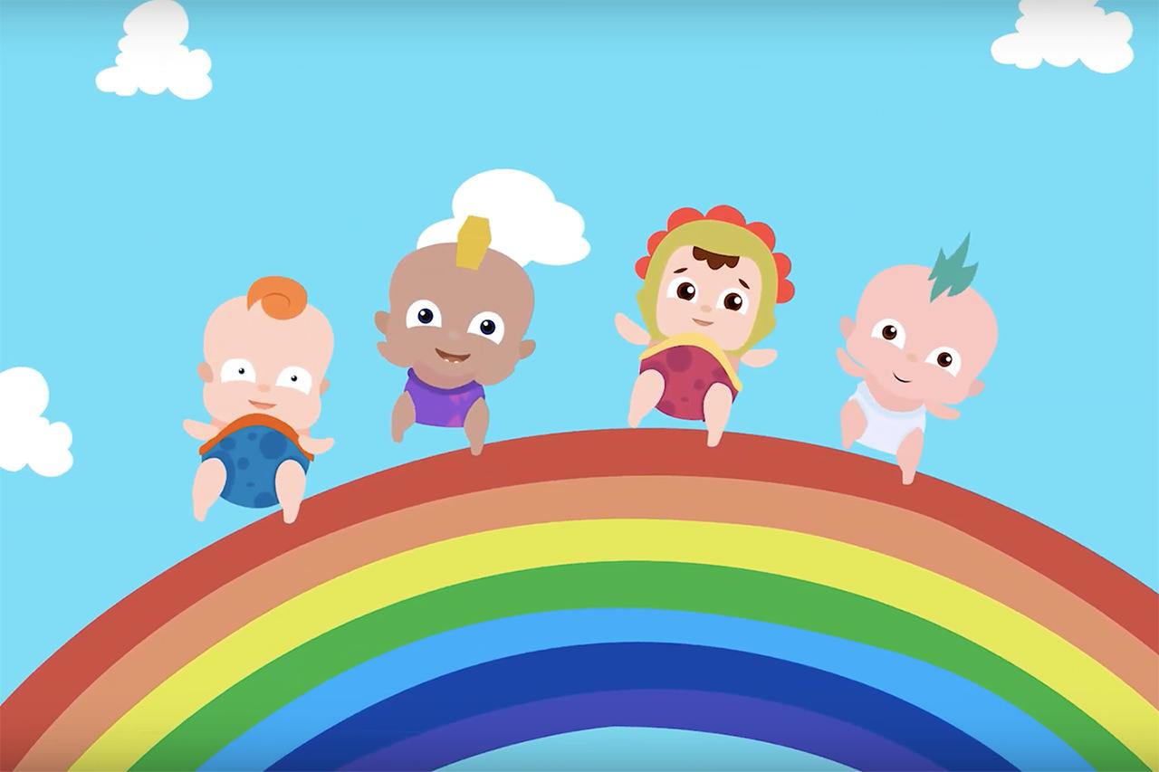 babyloonz app för barn bebisar sånger tv